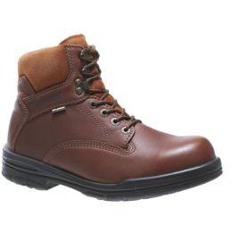 3122 Brown DuraShocks SR Direct-Attach 6-in Mens Wolverine Work Boots