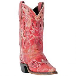 Dan Post Laredo No More Drama Red Womens Western Boots 3125