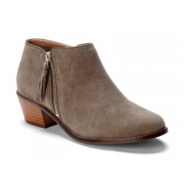 Vionic Greige Serena Side Zip Womens Ankle Boots 322SERENA-GRG