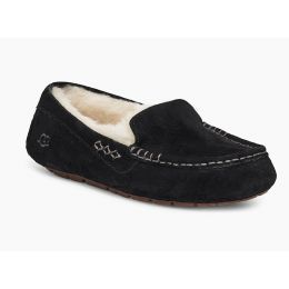 UGG Black Ansley Womens Indoor/Outdoor Slippers 3312