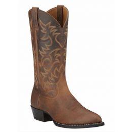 34725 Distressed Brown Heritage Ariat Mens Western Cowboy Boots