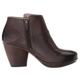 Dansko Chocolate Miley Burnished Calf Womens Boot 3515-230600