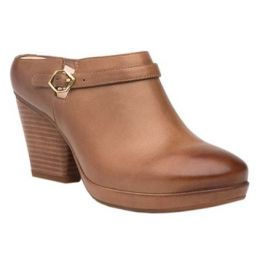 Dansko Tan Malissa Burnished Mule Calf Womens Boots 3516-370600