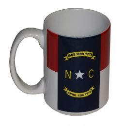 State Of North Carolina Flag Coffee Mug 354771