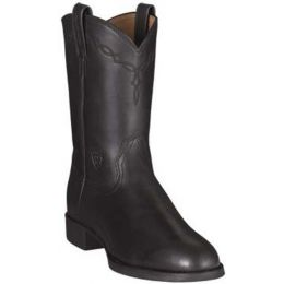 35501 Black Heritage Roper Ariat Mens Western Cowboy Boots