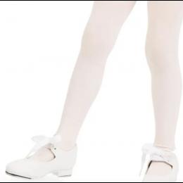 Capezio White Shuffle Girls Tap Shoes 356C-WHITE