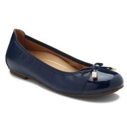 Vionic Navy Minna Womens Comfort Ballet Flat 359MINNA