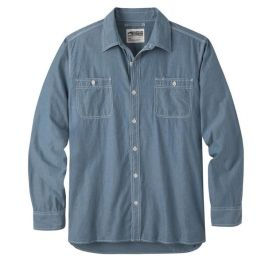 Mountain Khakis Mountain Chambray Mens Long Sleeve Shirt 362