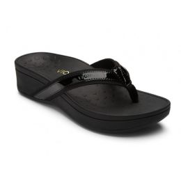 380HIGHTIDE Black High Tide Platform Womens Comfort Vionic Sandals