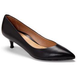 Vionic Black Josie Kitten Womens Versatile Dress Heels 389JOSIE