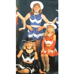 3930G  Range Riders DANCE RECITAL COSTUME