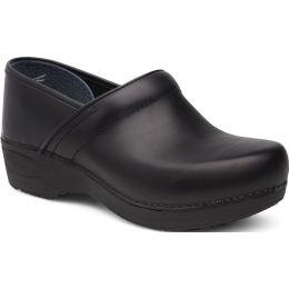 Dansko Black XP 2.0 Womens Closed Back Comfort Clogs 3950-100202