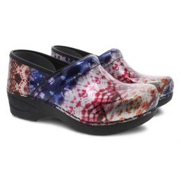 Dansko XP 2.0 Metallic Tie Dye Patent Womens Comfort Shoes 3950-270202