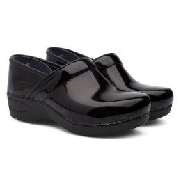 Dansko Black Patent Leather XP 2.0 Womens Comfort Clogs 3950-470202
