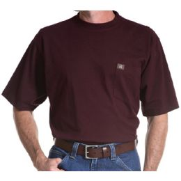3W700BG Riggs Workwear Short Sleeve Pocket Tee Wrangler Mens Shirts
