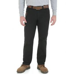 3W045-BK Black Technician Riggs Workwear Wrangler Mens Work Pants
