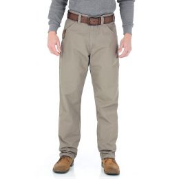 3W045DK Dark Khaki Riggs Workwear Technician Wrangler Mens Pants