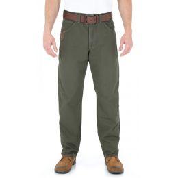 3W045DK Dark Khaki Riggs Workwear Technician Wrangler Mens Pants