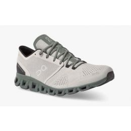 On Glacier/Olive Cloud X Mens Running Shoes 40.99595