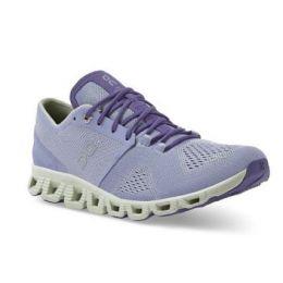 On Women's Lavender/Ice Cloud X Comfort Running Shoe 40.99697