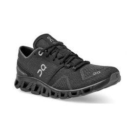 On Women's Black/Asphalt Cloud X Comfort Running Shoe 40.99701