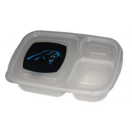 Carolina Panthers Clear Binto Box Container 404106