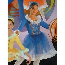 4105A Child Beautiful Maidens Leotard DANCE RECITAL COST