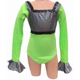 4115  Rythm of the Night Leotard DANCE RECITAL COSTUMES CH