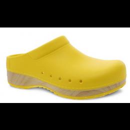 Dansko Yellow Kane Mule Women's Clog Shoes