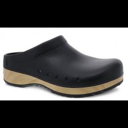 Dansko Black Kane Molded Ladies Clog Shoes 4145-180200