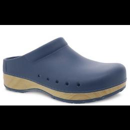 Dansko Blue Kane Molded Ladies Clog Shoes 4145-545400