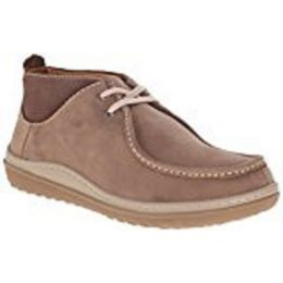Clarks Men's Gait Mid Chukka Boot Light Brown/Grey Mens Casual 26110266