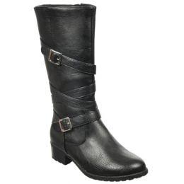 Rachel Nashville Black Fashion Boot NASH-BLK