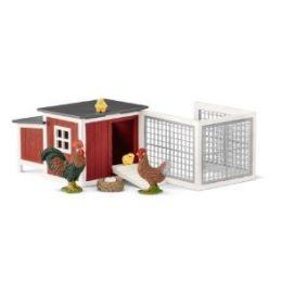 Schleich Chicken Coop 2018 Toy Figurine Kids 42421