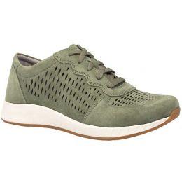 Dansko Charlie Sage Suede Perforated Womens Comfort Sneaker 4250-130313
