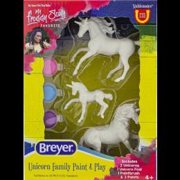 Breyer Unicorn Family Paint & Play Kit 4262
