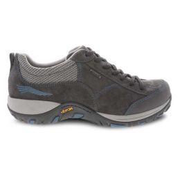 Dansko Grey/Blue Suede Paisley Comfort Sneaker 4350-241005