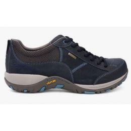 Dansko Paisley Navy Milled Nubuck Womens Hiker Shoes 4350-751075
