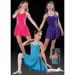 4402 Jewelette DANCE RECITAL COSTUME