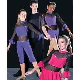 4404B Fusion II (w/shorts) DANCE RECITAL COST CH
