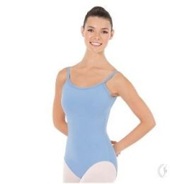 Eurotard Light Blue Womens Adjustable Camisole Leotard with Tactel Microfiber 44819