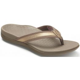 Bronze Metallic Podiatrist-Designed Orthaheel Vionic Womens Sandals