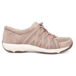 Dansko Honor Walnut Suede Womens Comfort Sneaker 4509-206719