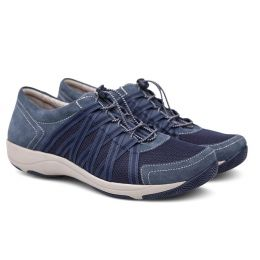 Dansko Honor Blue Suede Womens Comfort Sneaker 4509-727575