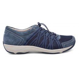 Dansko Honor Blue Suede Womens Comfort Sneaker 4509-727575