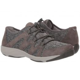 Dansko Charcoal Holland Suede Womens Comfort Shoes 4516-201020