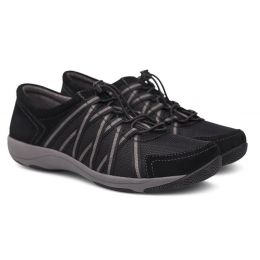 Dansko Black Honor Womens Wide Casual Sneaker 4549-30295