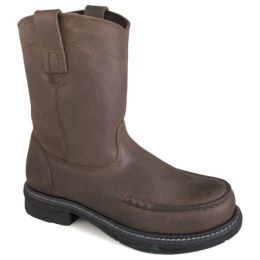 Smoky Mountain Western Boots Boys Brown Augusta Pull On 3918Y