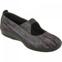 4671-SS LEINA Black Sorrento Comfort Mary Jane Arcopedico Womens Shoes