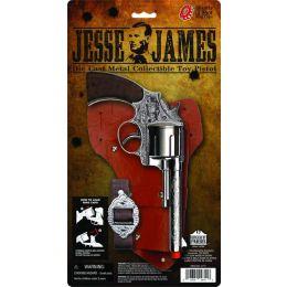 Parris Toys Jesse James Toy Pistol Holster Set 4711C